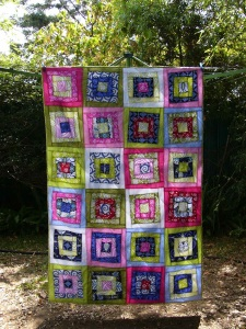 The Wonky Canasta Quilt