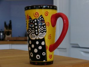 Laurel Burch Mug