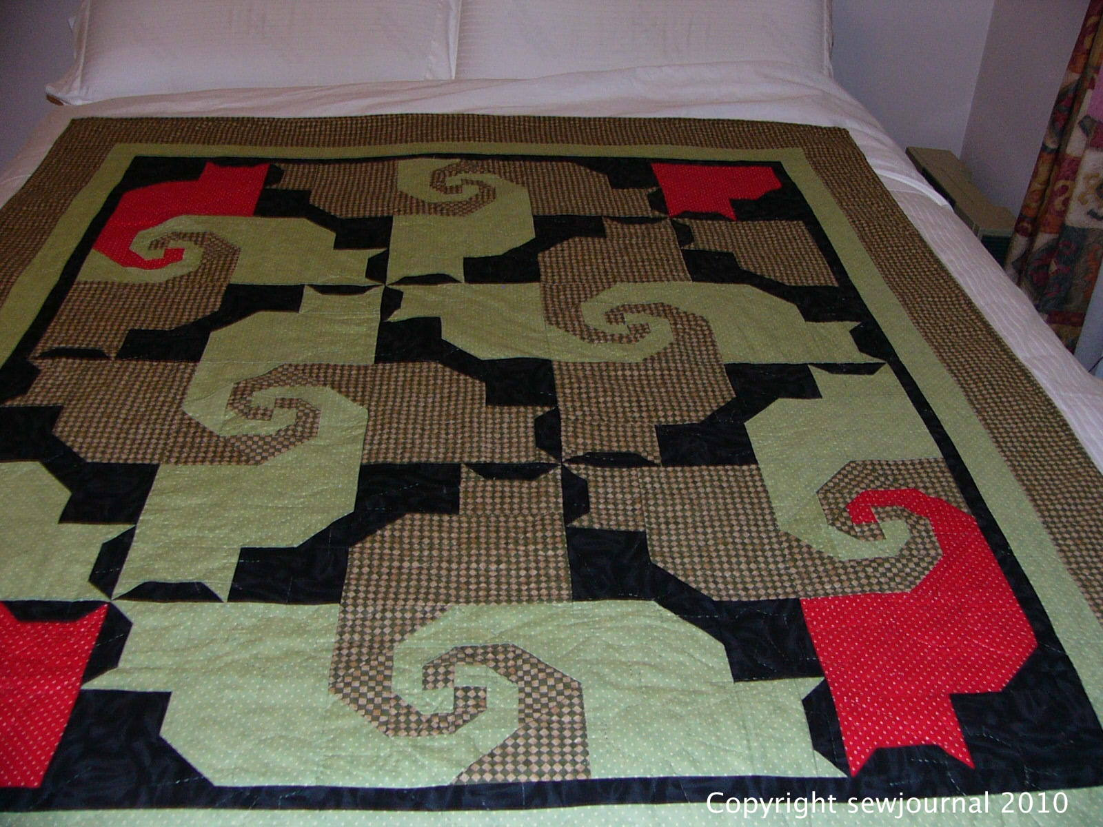 Last Minute Entry In The Bloggers Quilt Festival Sewjournal