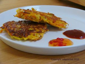Spicy Pakora Patties