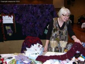 Prudence Mapstone's stall