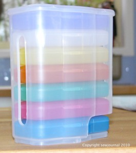 Sit and sew organiser