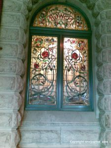 Stained glass at Central Railway Station