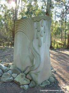 Memorial back view