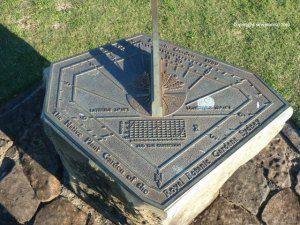 Traditional sundial