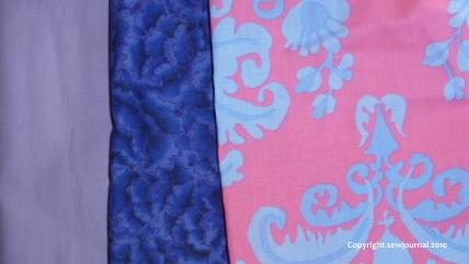 Fabrics for the stripe