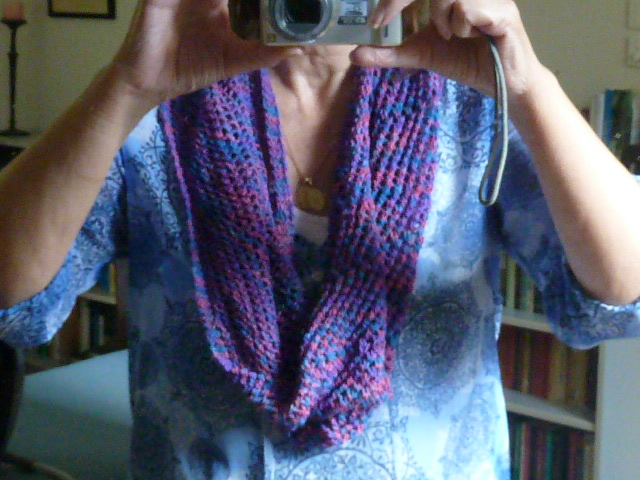 The scarf/moebius/cowl   free knitting pattern Sewjournal