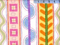 Pastel Tropical Stripe