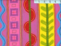 Rasberry Tropical Stripe