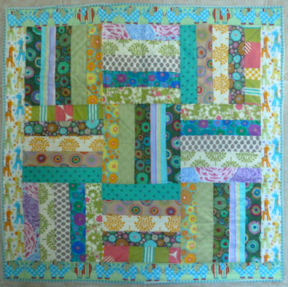 Jelly Roll Baby Quilt | Sewjournal : jelly roll baby quilt - Adamdwight.com