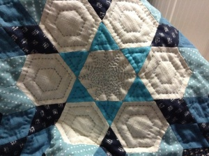 EPP part of a prayer quilt